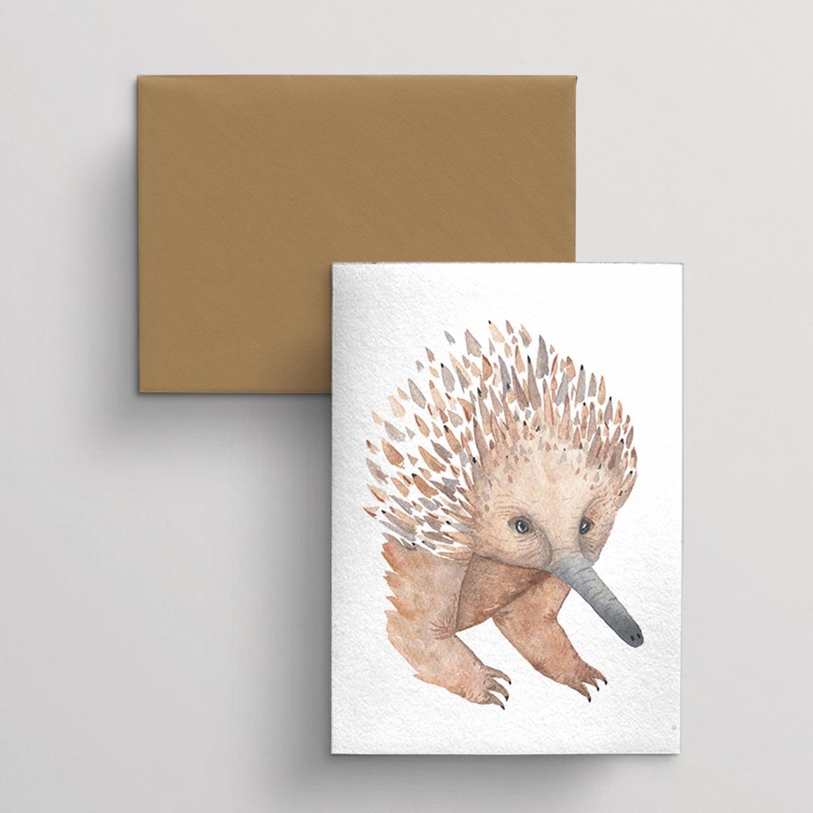Greeting card single Echinda | Trada Marketplace