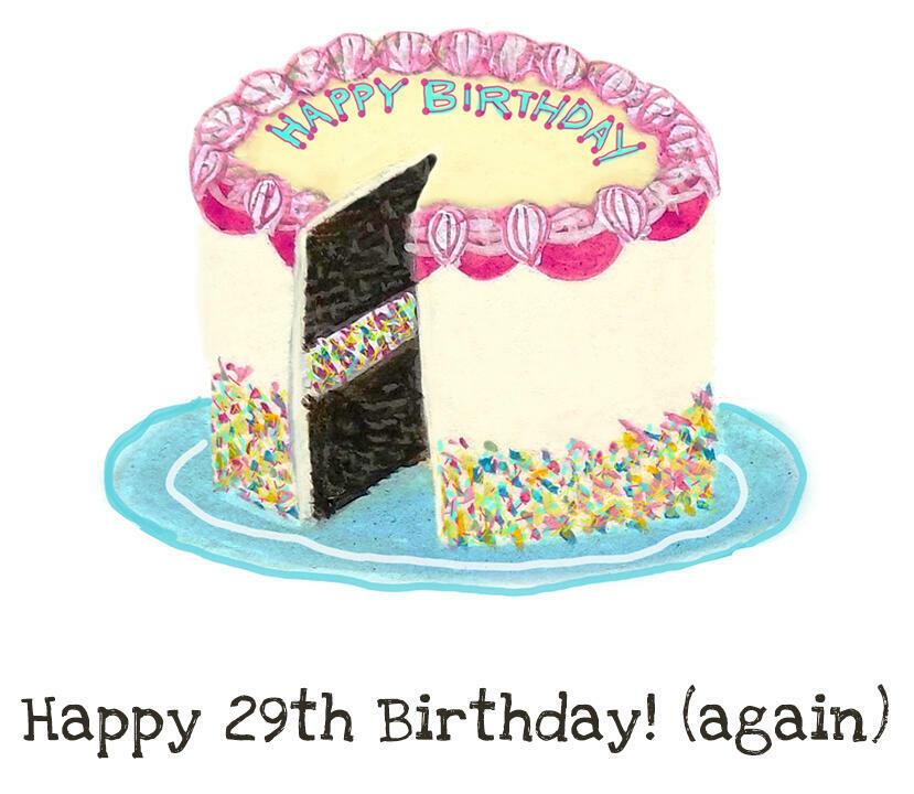 Happy 29th Birthday! (Again)   Trada Marketplace