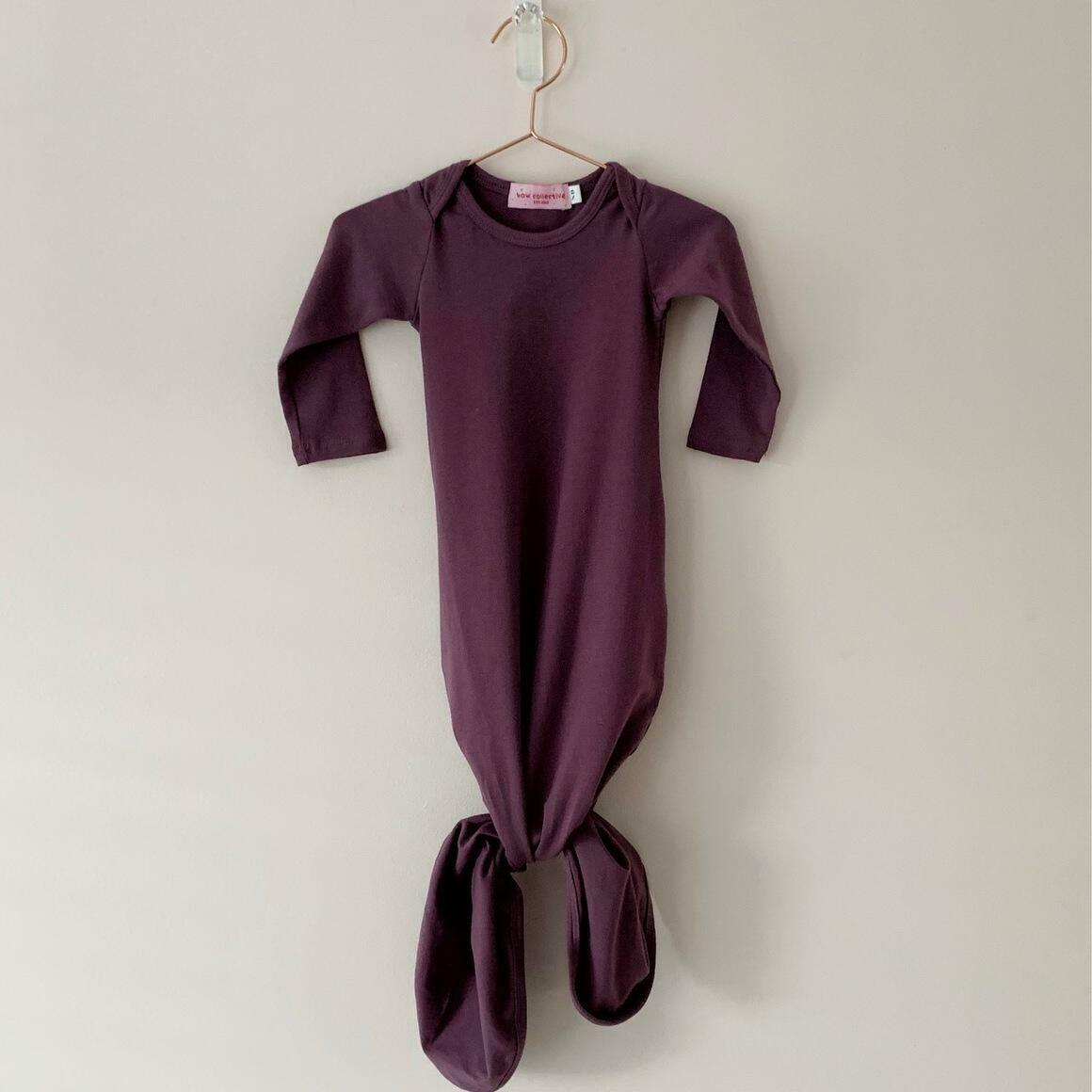 Dusty Plum Knotted Gown  | Trada Marketplace