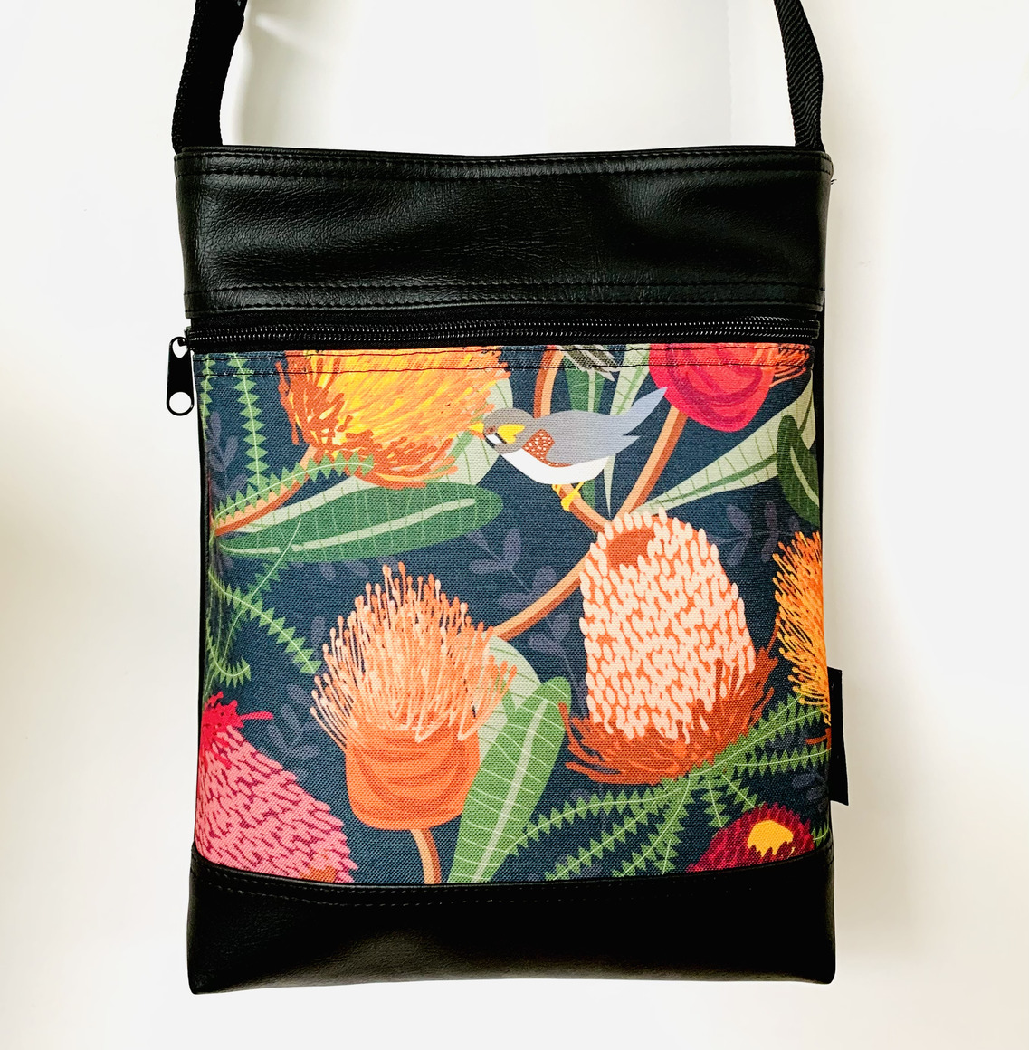 Stand Up Sue Bag in Bird and Banksia | Trada Marketplace