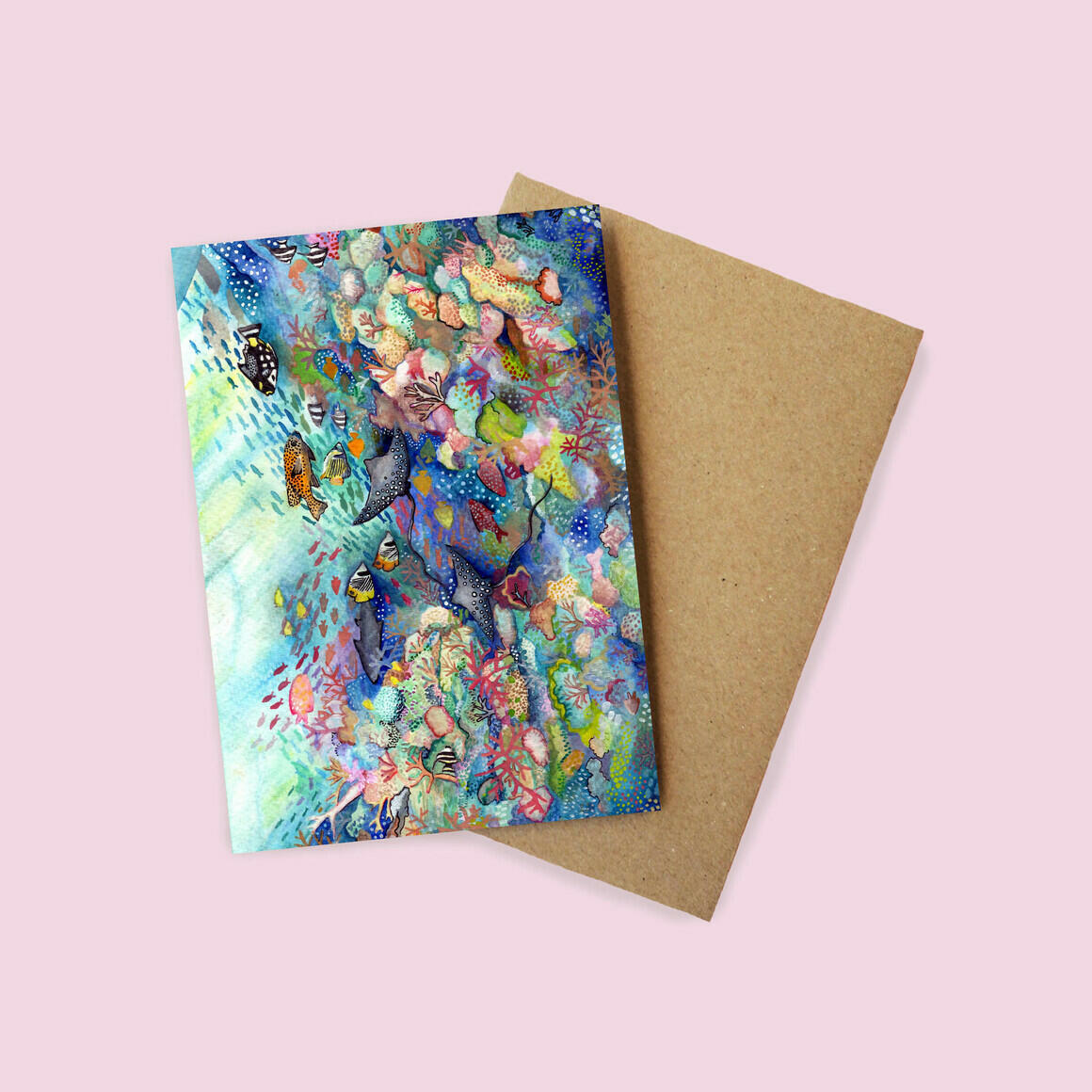 Greeting Card - Great Barrier Reef | Trada Marketplace