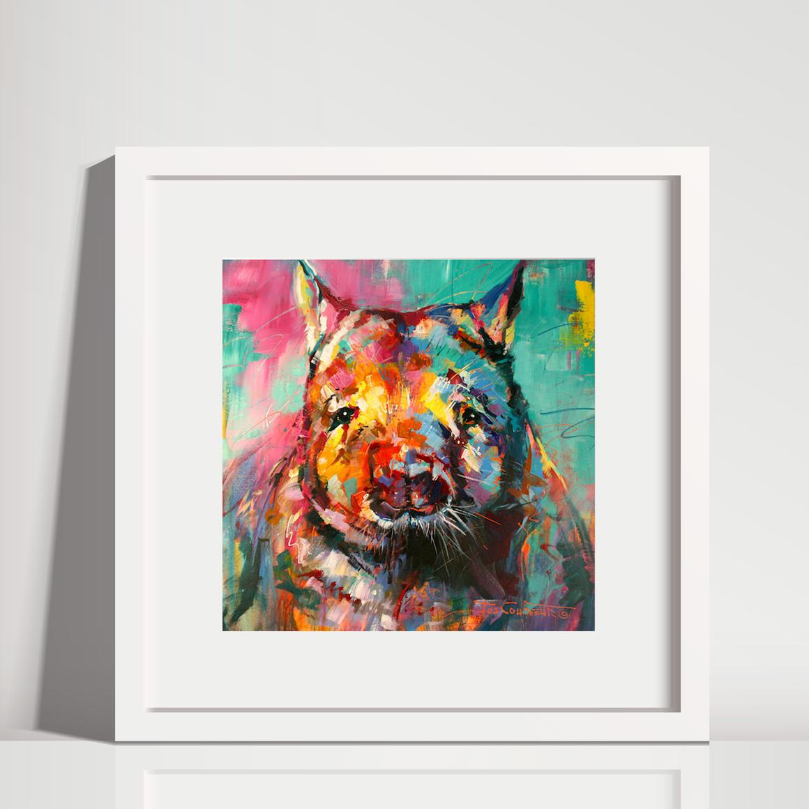 Wombat Art Print | Trada Marketplace