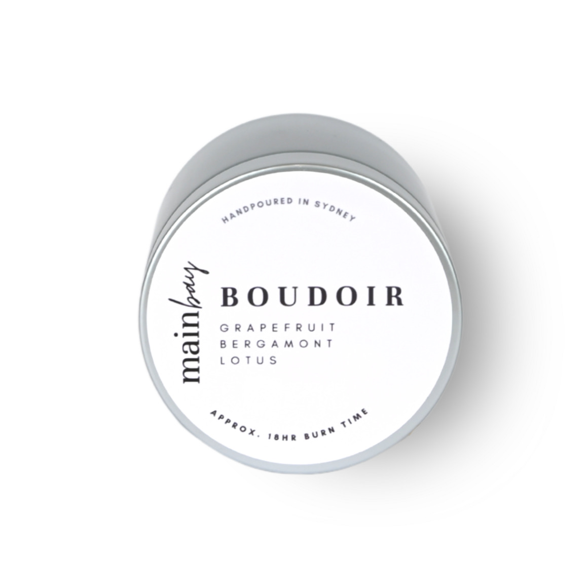 Boudoir | Lotus, Bergamot, Grapefruit | Tin Collection | Trada Marketplace