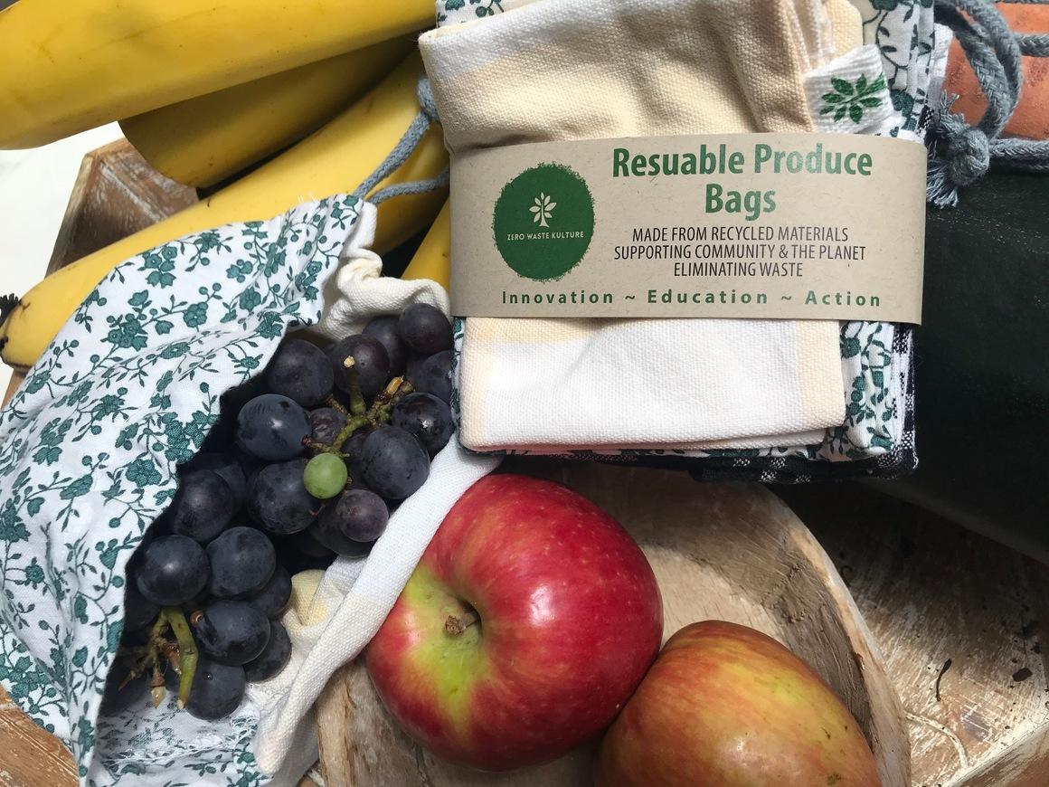 Produce bags set of 3   Trada Marketplace