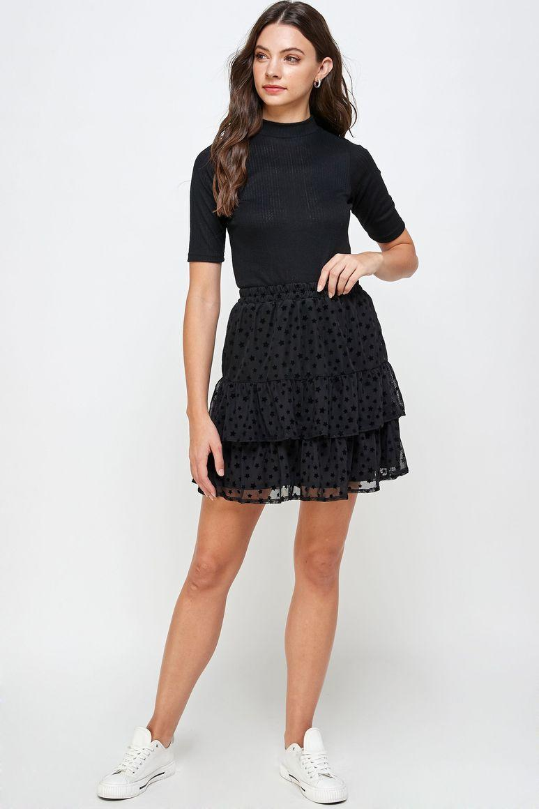 Collette Mesh Tiered Skirt | Trada Marketplace