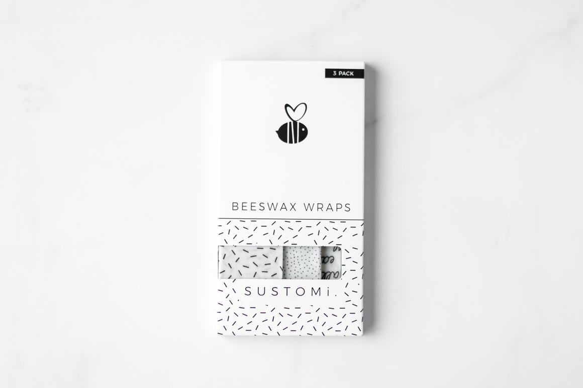 Beeswax Wraps Mixed 3 pack   Trada Marketplace