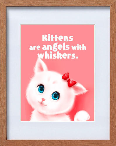 cute kitten frame | Trada Marketplace