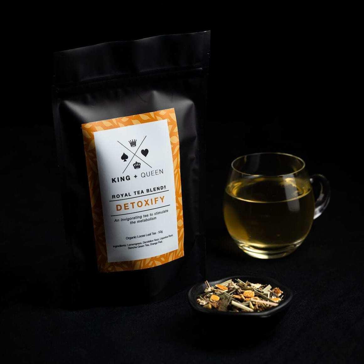 Detoxify - Organic Detoxing Herbal Tea Blend   Trada Marketplace