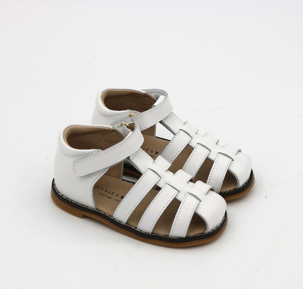 Harlow Sandals - White (NEW DESIGN) | Trada Marketplace