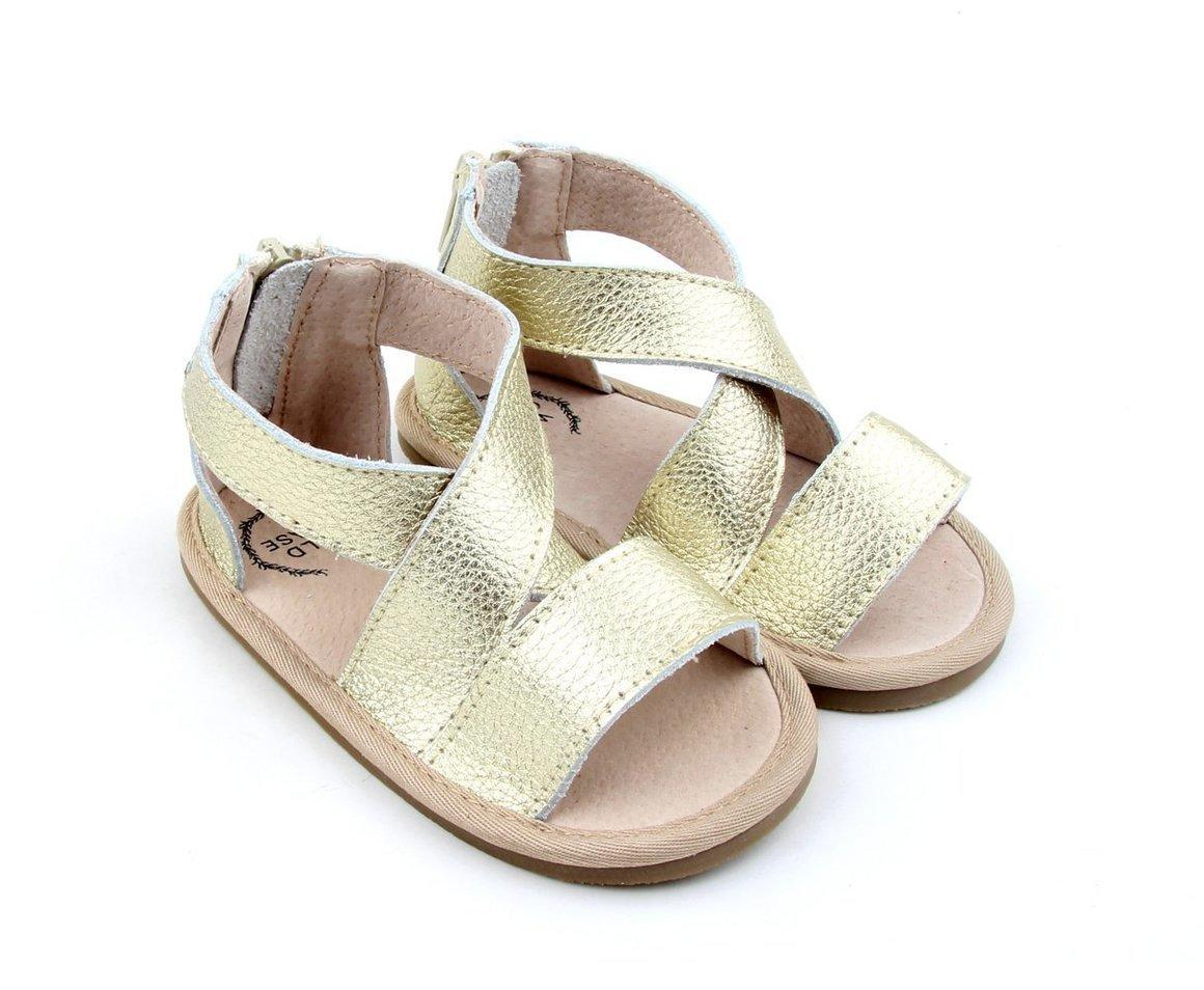 Luxe Leather Sandal Collection - Gold | Trada Marketplace