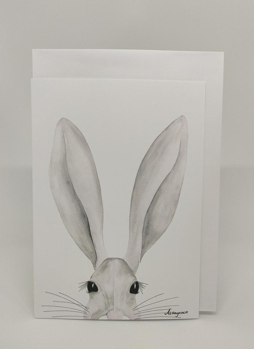 Evan the Rabbit Card | Trada Marketplace