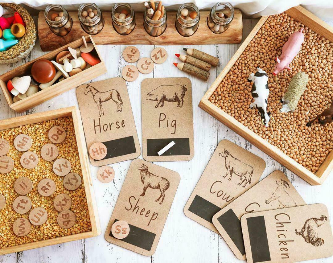 FARM ANIMAL FLASH CARDS   Trada Marketplace