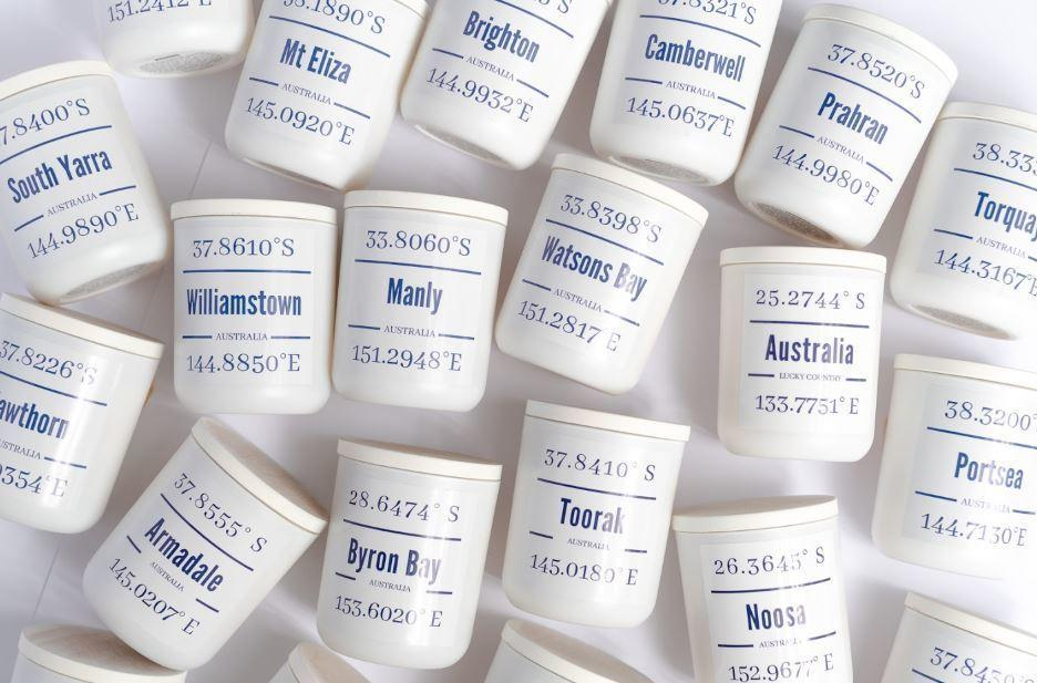 . CHOOSE YOUR DESTINATION - Matt White Vessel with White Washed Lid | Trada Marketplace