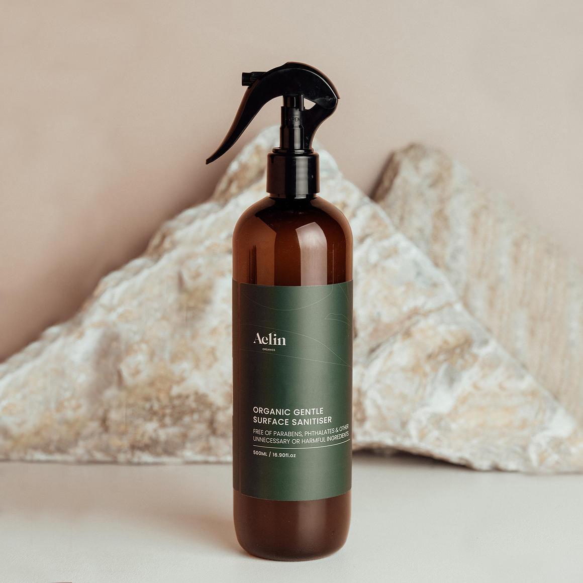 Certified Organic Sanitising Spray 500ml Gentle   Trada Marketplace