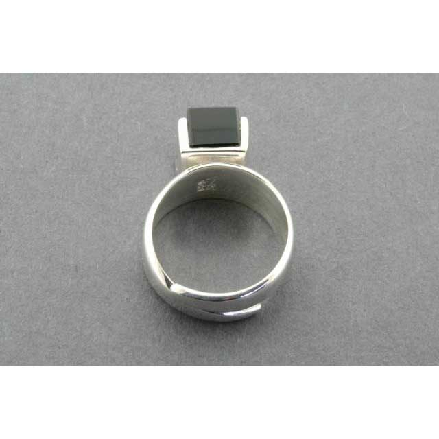 adjustable block ring - onyx | Trada Marketplace