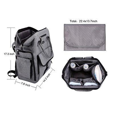 La Tasche Urban Backpack - Grey | Trada Marketplace