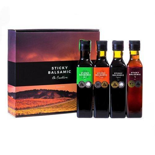 Sticky Balsamic Gift Box (4x250ml)   Trada Marketplace