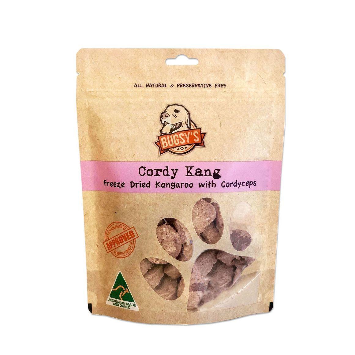 Cordy Kang | Freeze Dried Australian Kangaroo with Cordyceps | Trada Marketplace