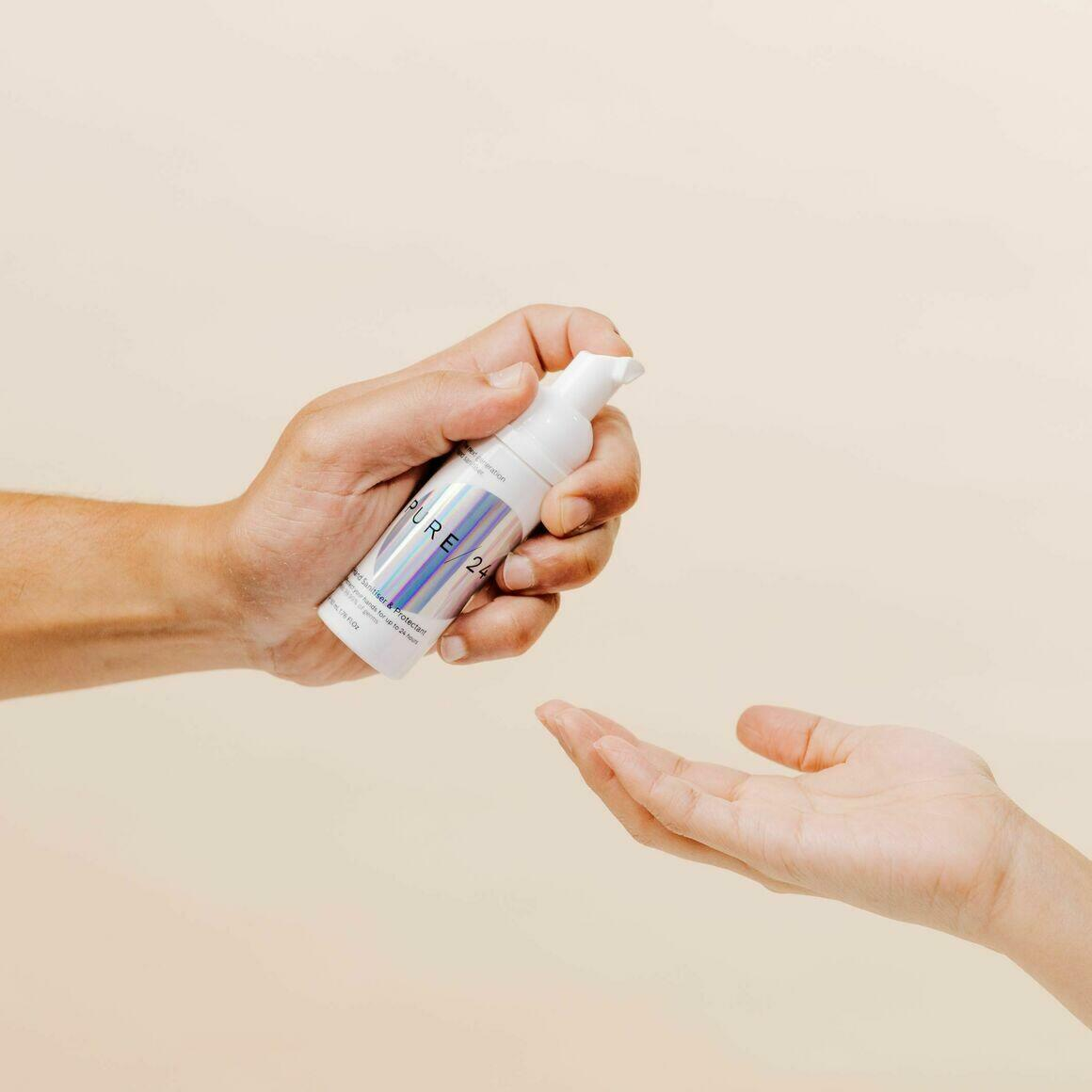 50ml Hand Sanitiser& Protectant   Trada Marketplace