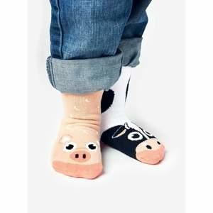 Cow & Pigs   Kids Collectible Mismatched Socks - Toddler 1-3 Years   Trada Marketplace