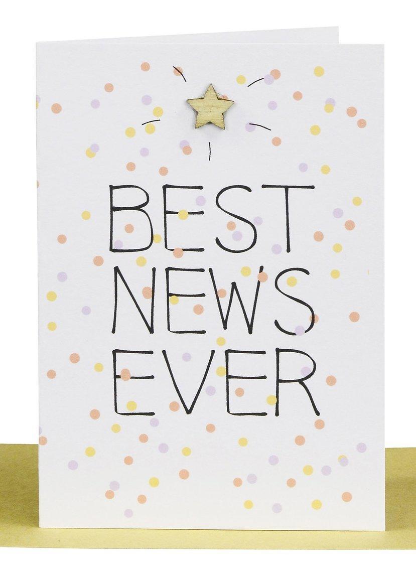 Congratulations Gift Card -Best News Ever | Trada Marketplace