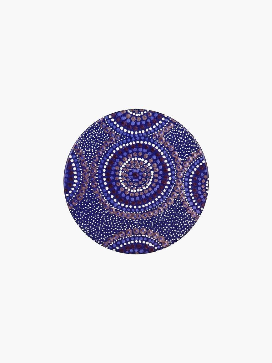 Aboriginal Desert Waterholes Ceramic Coaster | Trada Marketplace