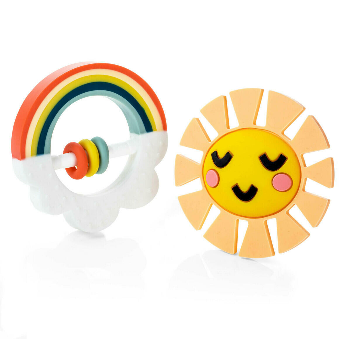 Little Rainbow Teether Toy | Trada Marketplace