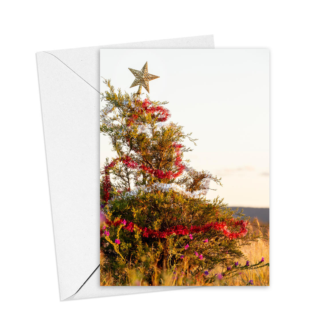 Christmas Tree Greeting Card   Trada Marketplace