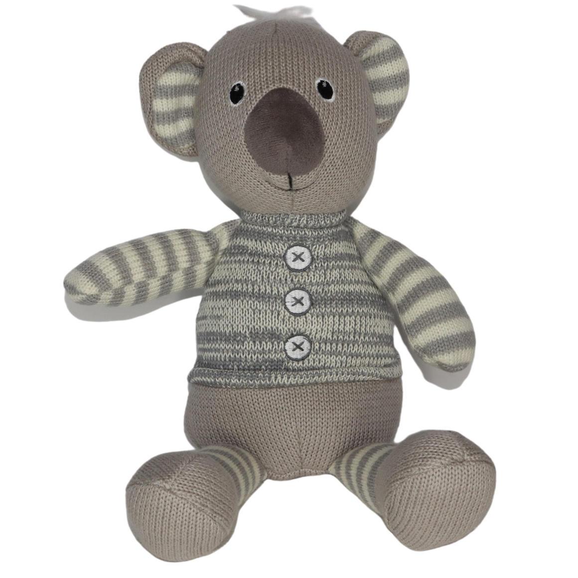 Plush Toy Koala - Grey/Stripe   Trada Marketplace