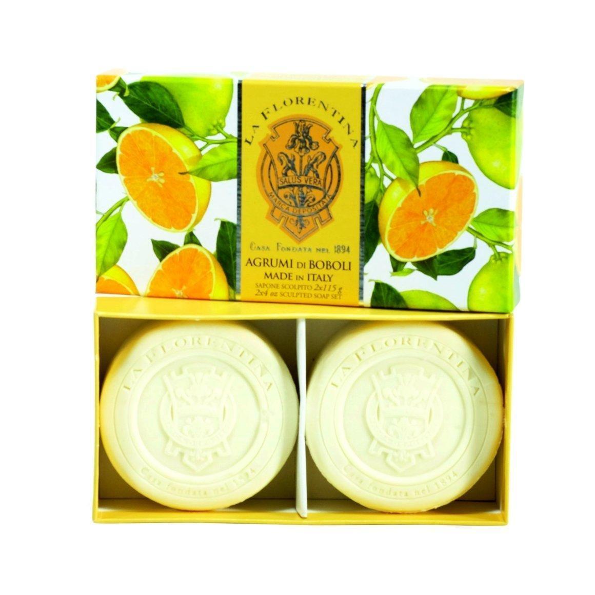 La Florentina Boboli Citrus 2 Bars soap 115 g   Trada Marketplace