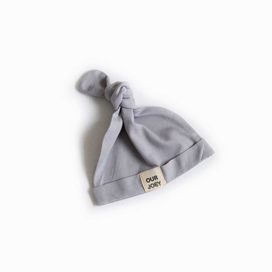Organic Cotton Beanie - Light Grey | Trada Marketplace