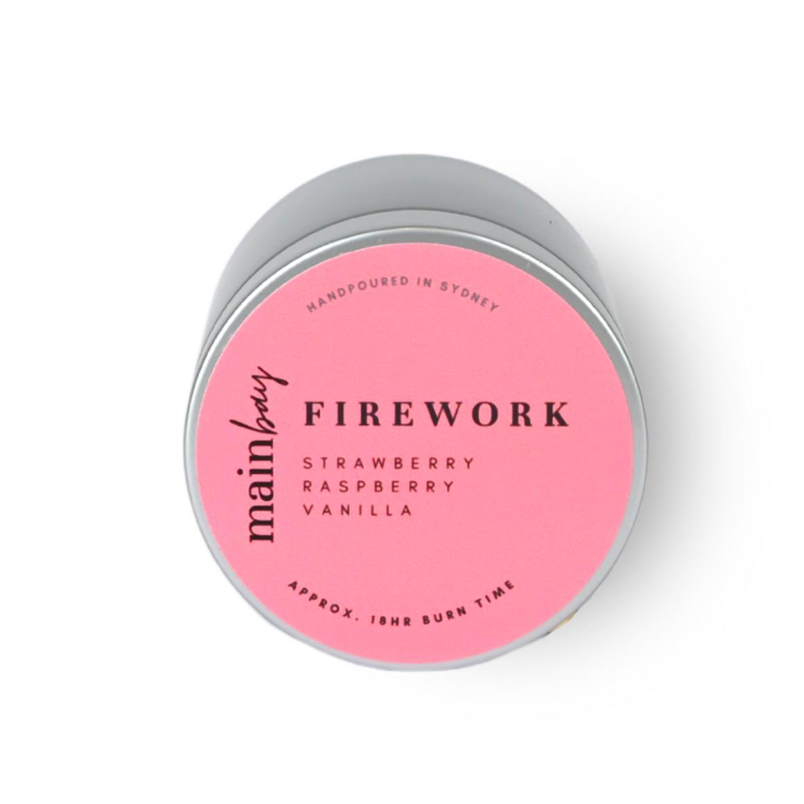 Firework | Strawberry, Raspberry, Vanilla | Tin Collection | Trada Marketplace