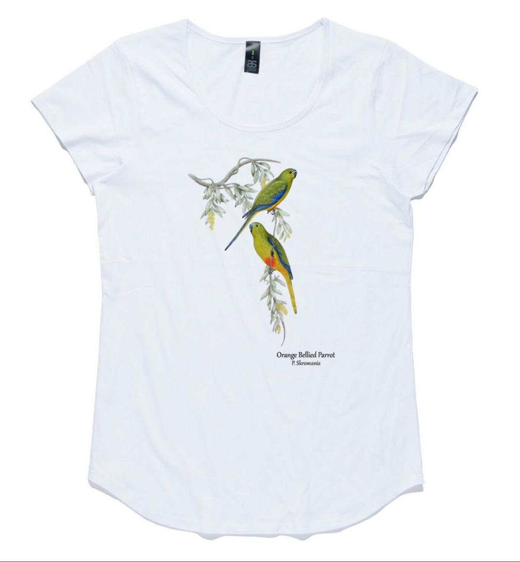 T-shirt - Orange Bellied Parrot   Trada Marketplace