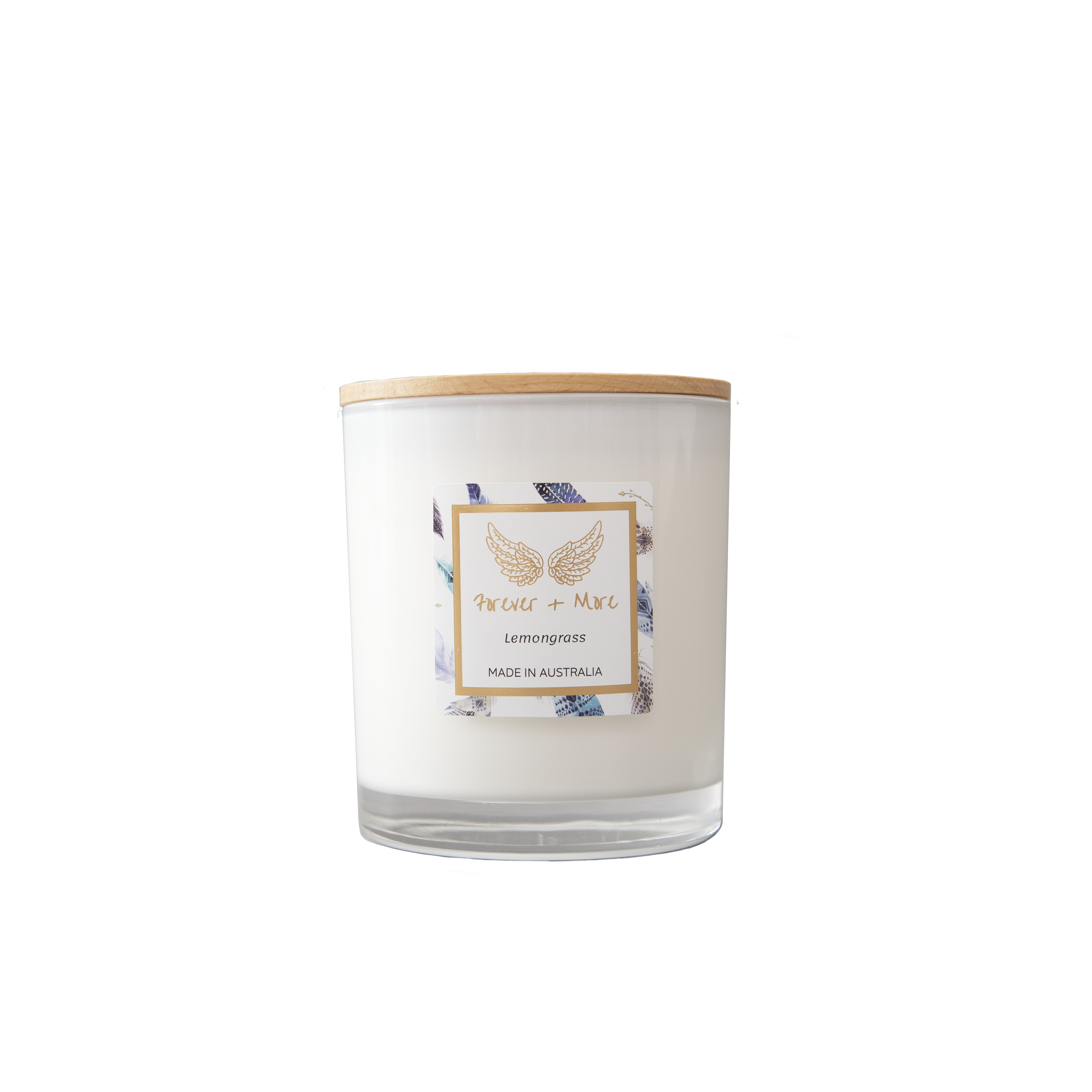 Large Soy Candle - Lemongrass | Trada Marketplace