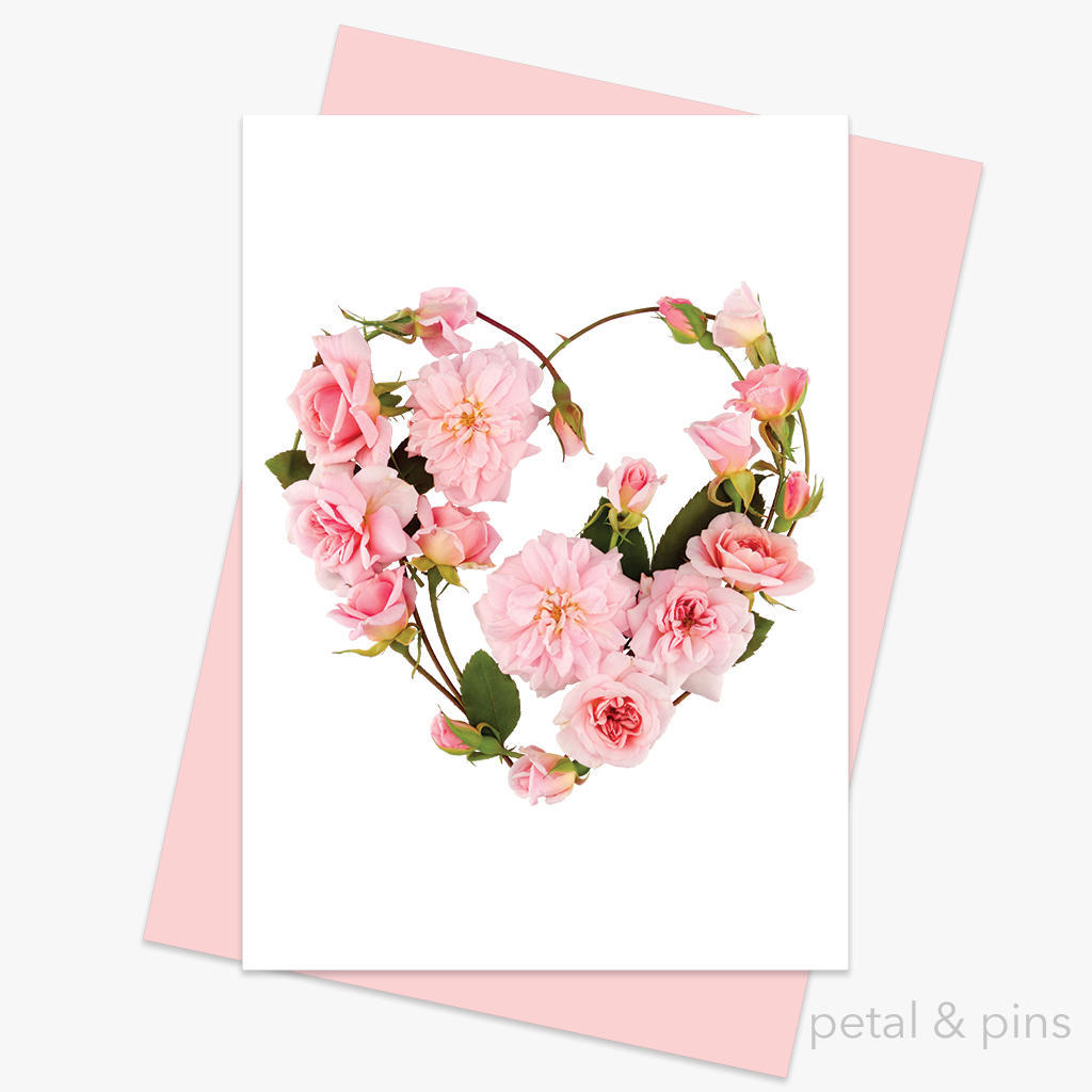 my heart's abloom greeting card | Trada Marketplace