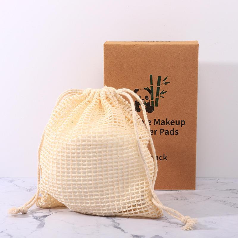Reusable Bamboo Makeup Remover Pads 16pcs | Trada Marketplace