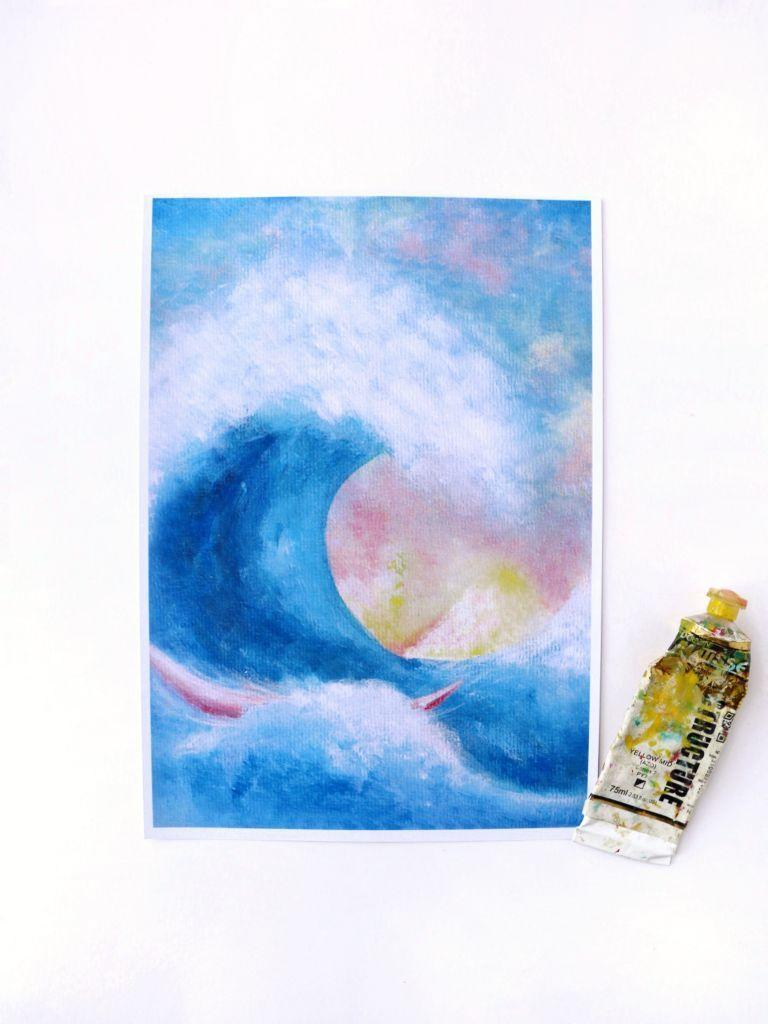 Greatest Wave Print | Trada Marketplace