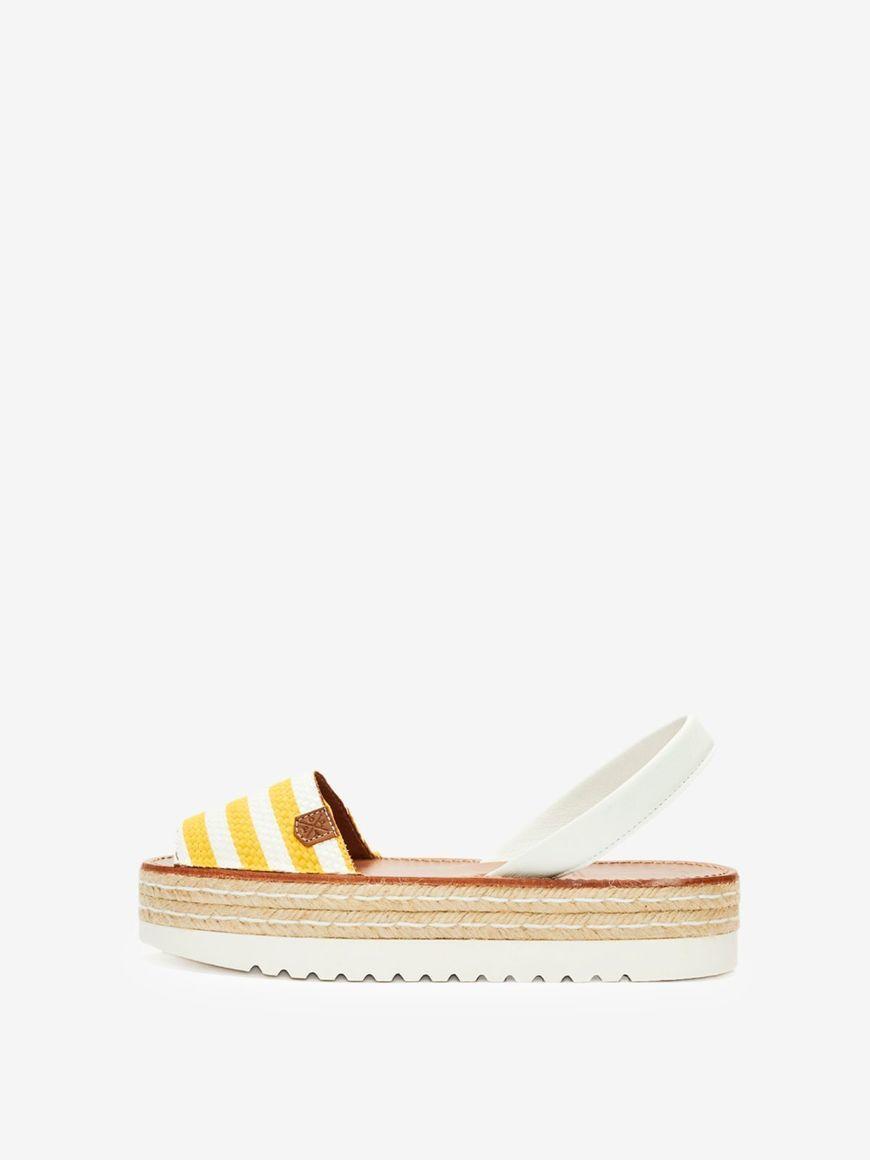 Saona Yellow & White Lines | Trada Marketplace