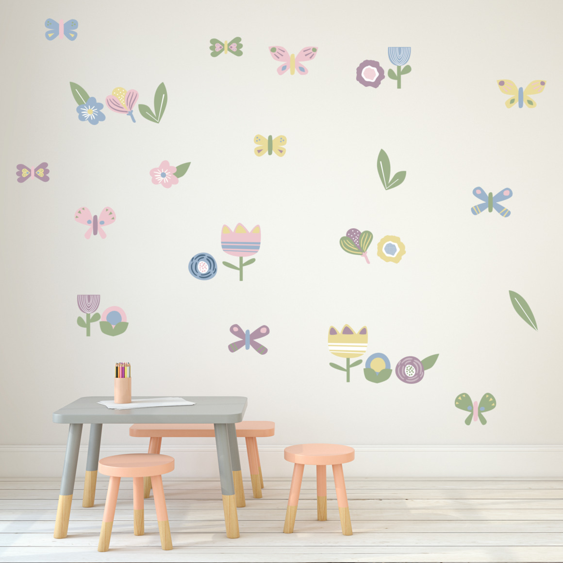 Fabric wall decals - Spring   Trada Marketplace