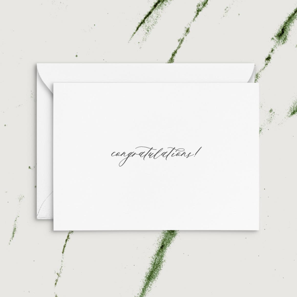 Congratulations!   Letterpress Greeting Card   Trada Marketplace