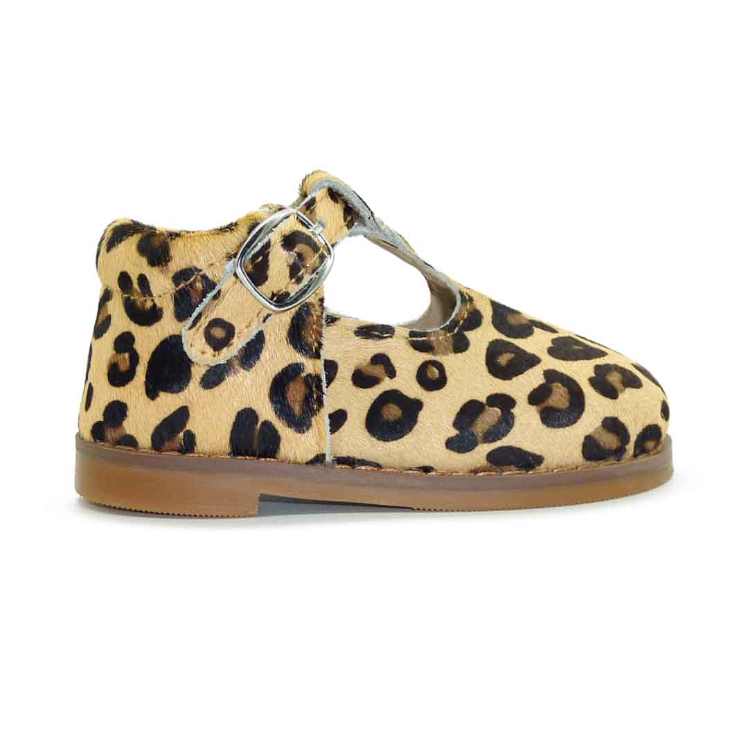 Milly Child T-Bar Leopard | Trada Marketplace