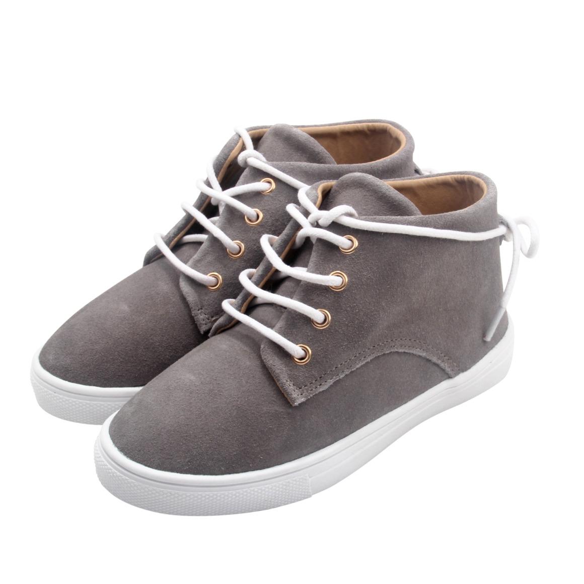 Gelato Collection -100% Suede - Grey | Trada Marketplace