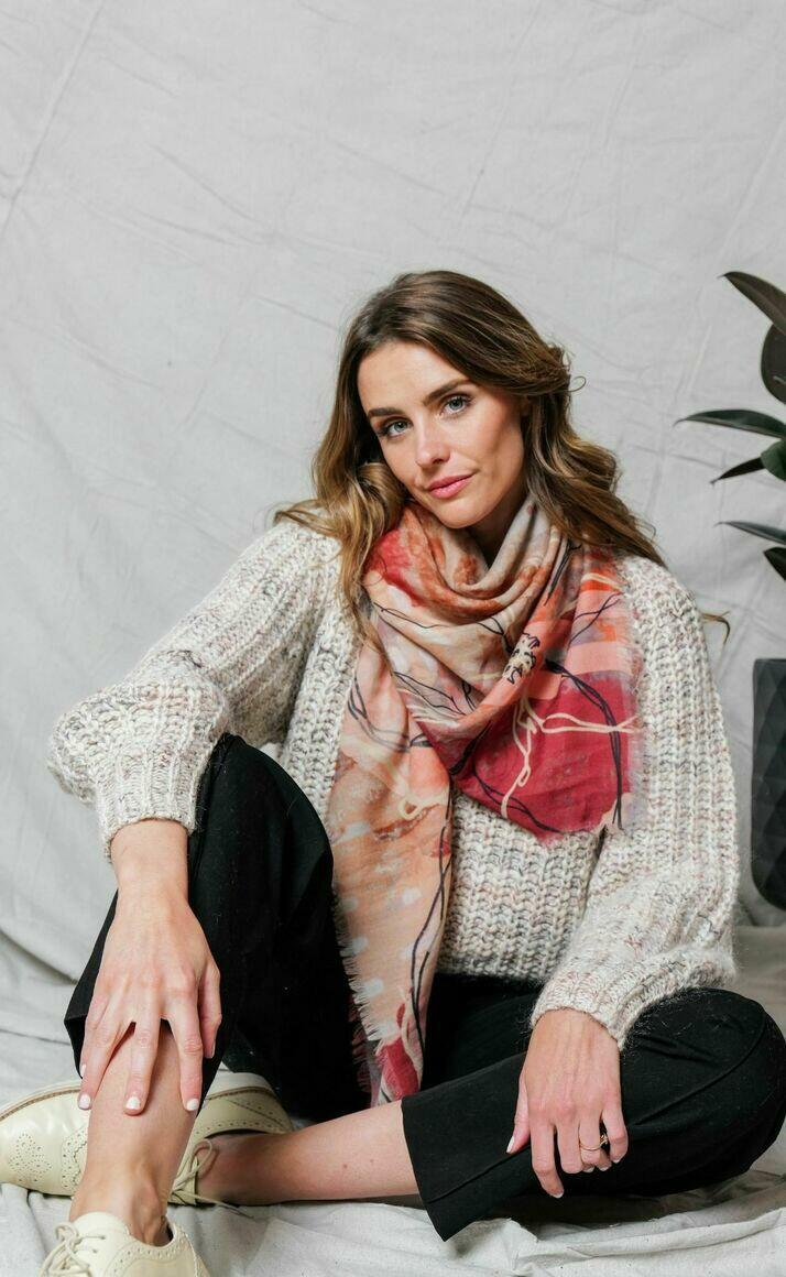 Merino wool scarf | HAPPENSTANCE | Trada Marketplace