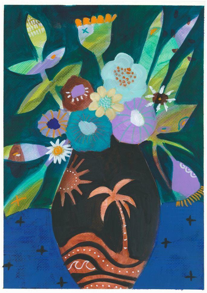 Desert Blooms Prints | Trada Marketplace