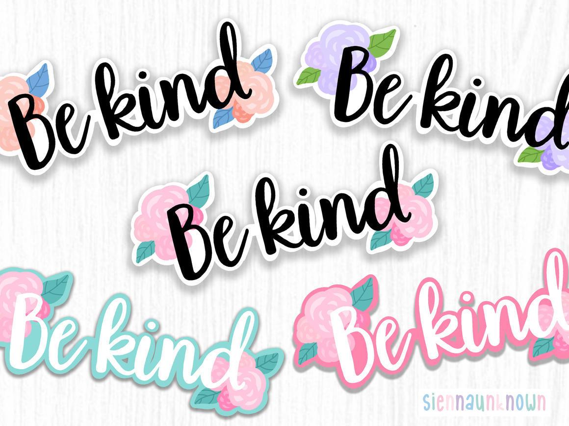 "Sticker ""Be Kind"" | Trada Marketplace"