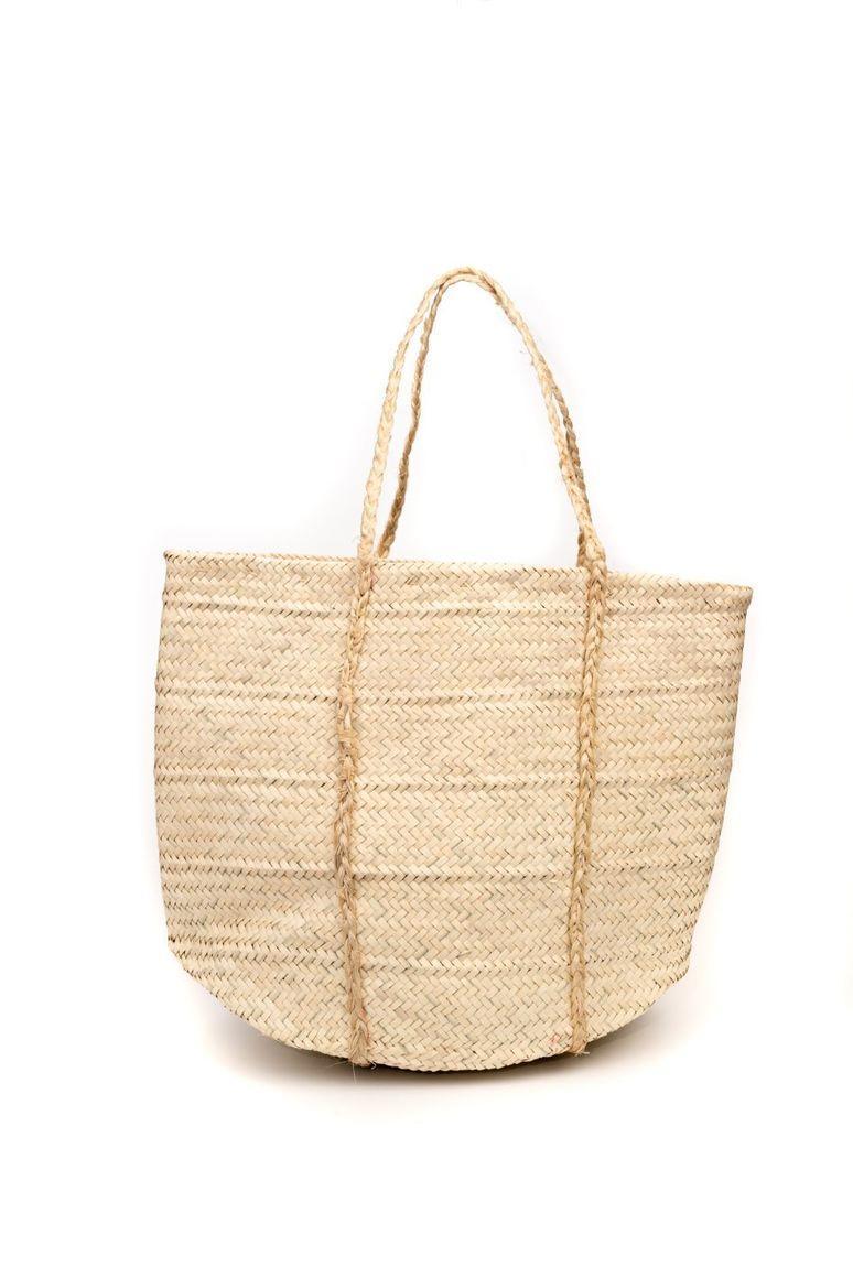 Woven palm leaf shopping bag | Trada Marketplace