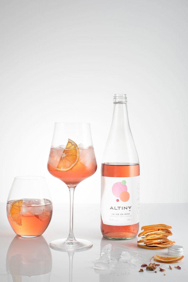 La Vie En Rose - Alcohol Free 750 ml   Trada Marketplace
