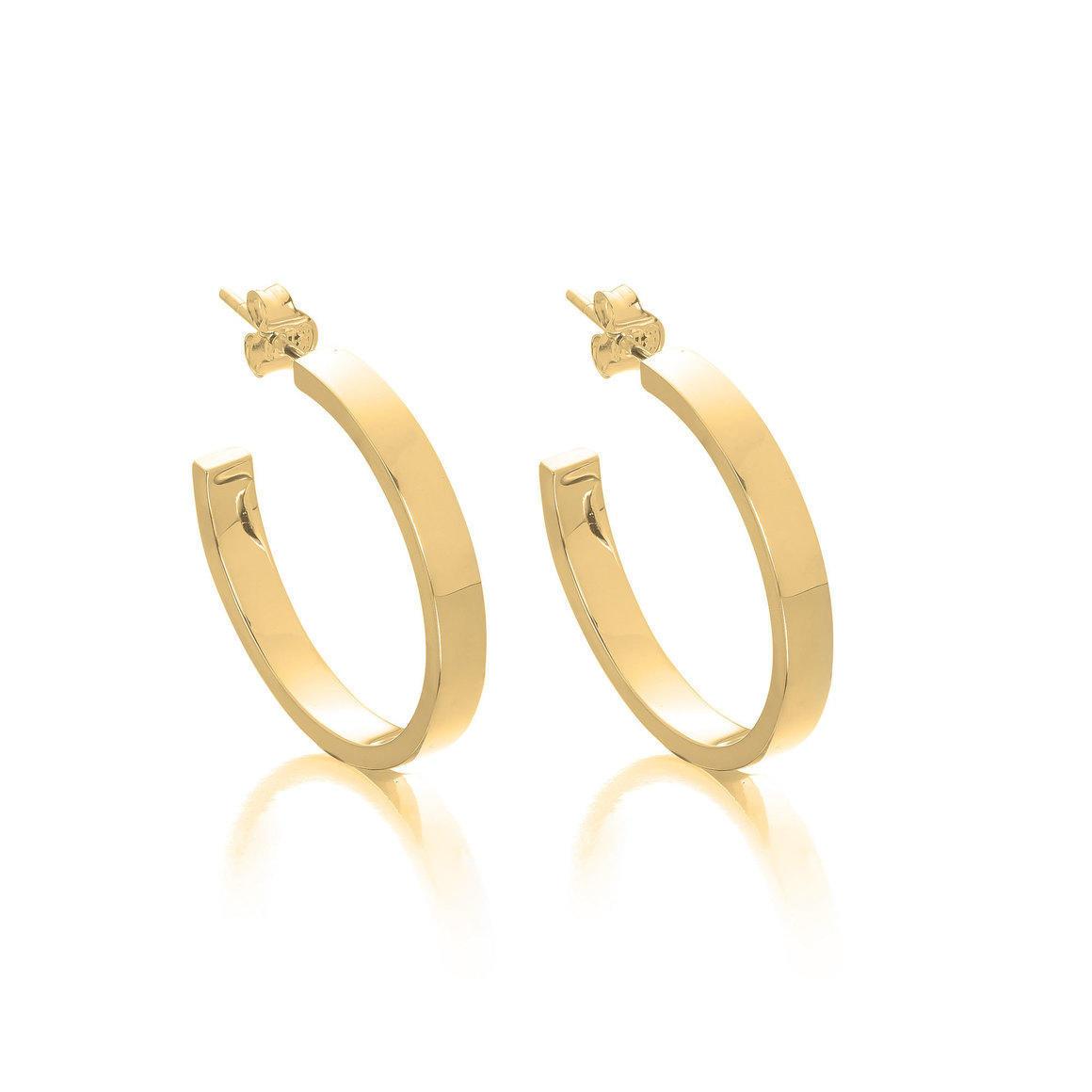 4mm Hoop Earrings | Trada Marketplace