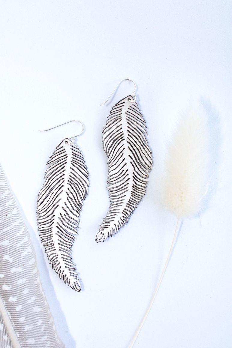 Fern Earrings Large | Trada Marketplace