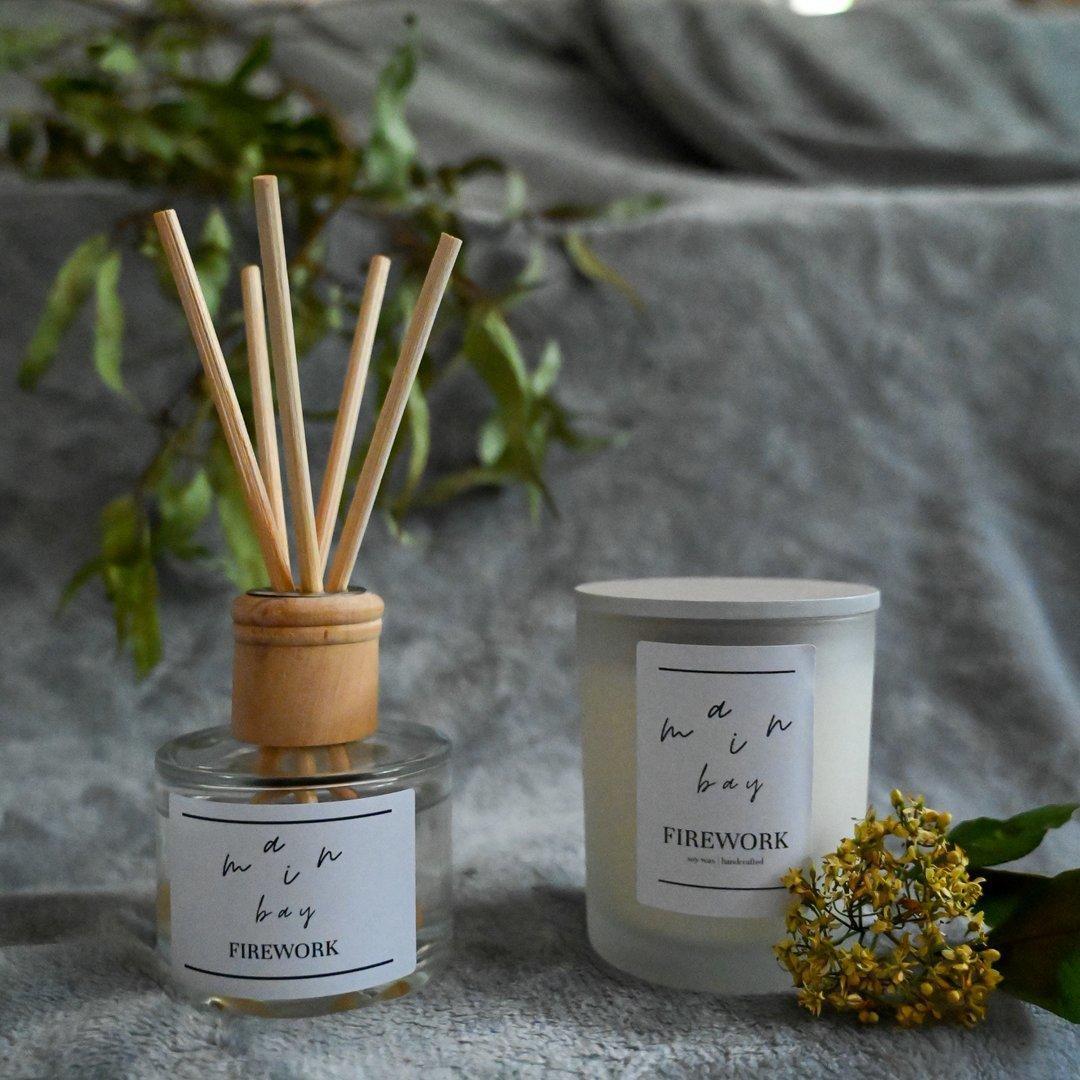 Firework Milieu Candle and Diffuser Set | Trada Marketplace